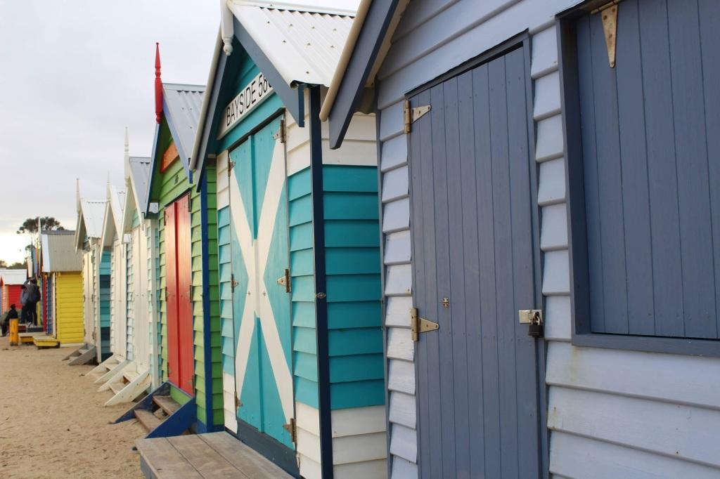 Brighton Beach in Melbourne Australia