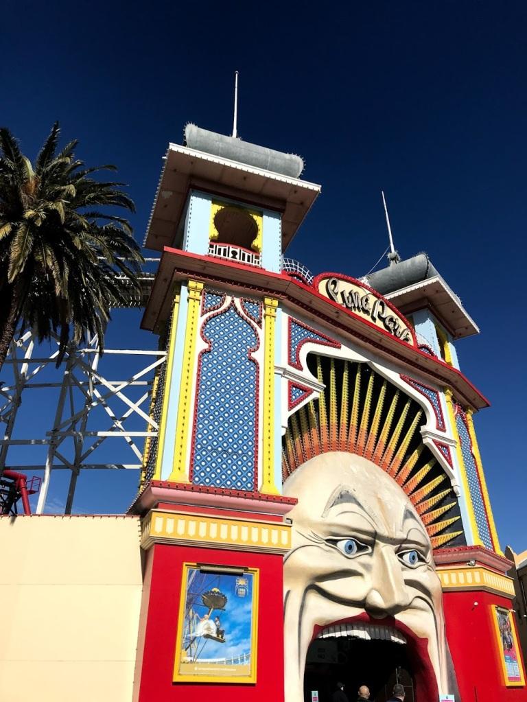 Luna Park in Melbourne Australia