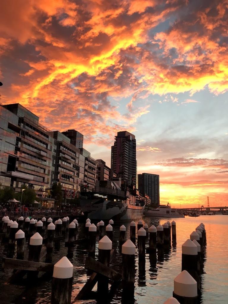 Beautiful Sunsets in Melbourne, Australia